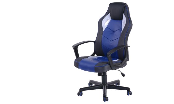8 כסא גיימינג ארגונומי Homax