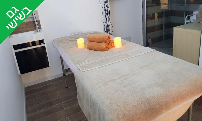 4 עיסוי ב-Day spa, במלון 5 כוכבים בתל אביב