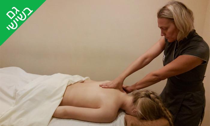 5 עיסוי ב-Day spa, במלון 5 כוכבים בתל אביב