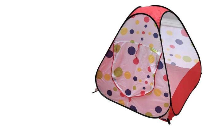 4 אוהל צבעוני לילדים
