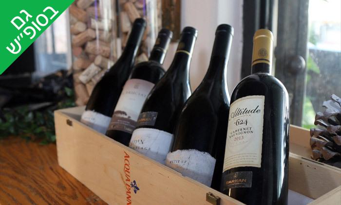 14 ארוחה זוגית כולל יין וקינוח במסעדת איטלקיה בתחנה, נווה צדק