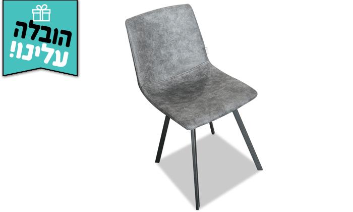 4 פינת אוכל נפתחת עם כיסאות ויטוריו דיוואני Vitorio Divani - משלוח חינם