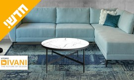 שולחן סלון דגם אייבורי