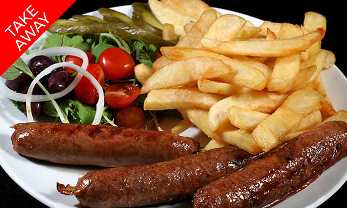 3 ארוחה ב-Take Away ממסעדת קניבר Kanibar, חיפה עיר תחתית