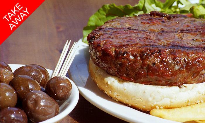 4 ארוחה ב-Take Away ממסעדת קניבר Kanibar, חיפה עיר תחתית