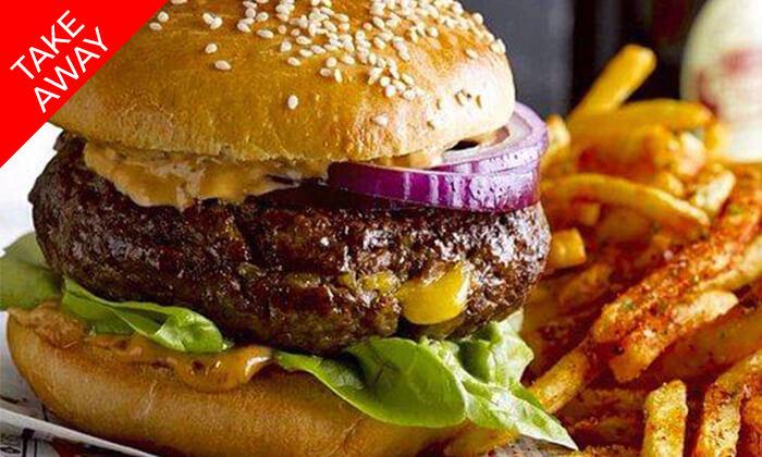 5 ארוחה ב-Take Away ממסעדת קניבר Kanibar, חיפה עיר תחתית
