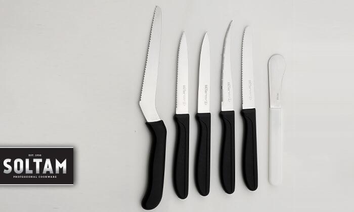 סולתם SOLTAM: סט 6 סכינים