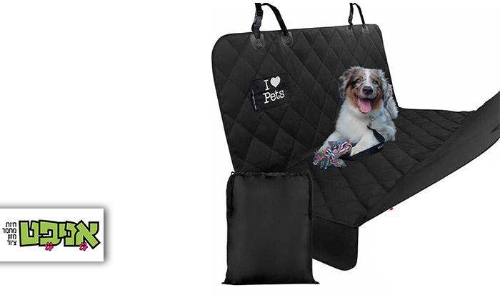 2 כיסוי מושב רכב אחורי לכלבים