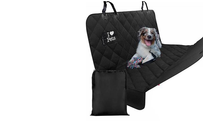 3 כיסוי מושב רכב אחורי לכלבים