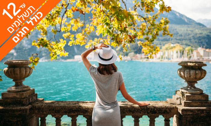3 יולי-אוגוסט וחגים בצפון איטליה - כפר נופש באגם גארדה