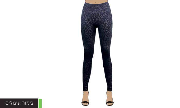 5 3 מכנסי טייץ תרמיים לנשים WOW