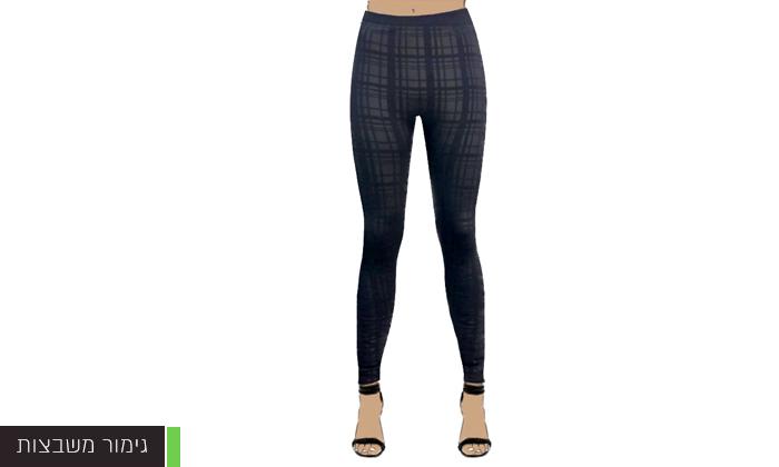 7 3 מכנסי טייץ תרמיים לנשים WOW
