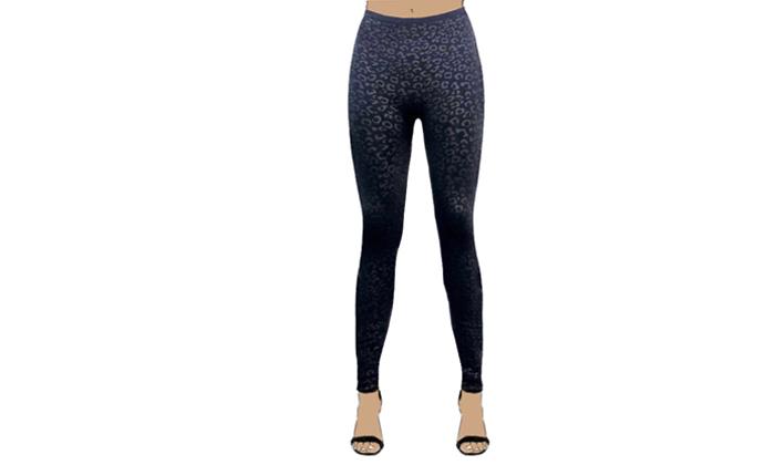 8 3 מכנסי טייץ תרמיים לנשים WOW