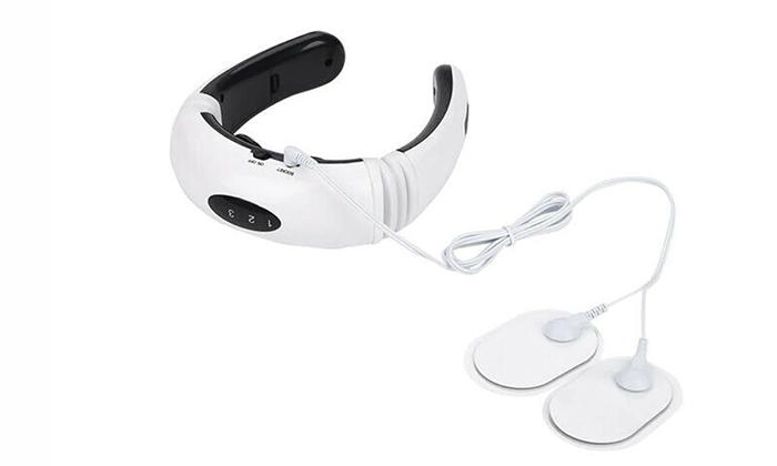 3 מכשיר עיסוי והרגעה לצוואר - משלוח חינם