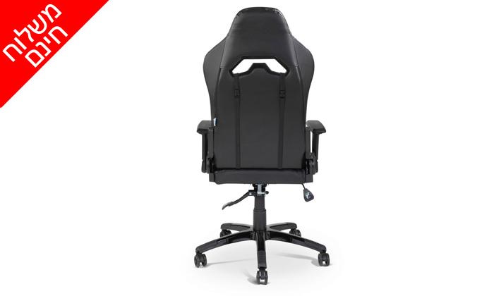 """7 ד""""ר גב: כיסא גיימיניג ארגונומי EXTREME COMFORT - משלוח חינם"""
