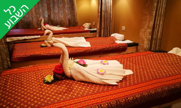 2 עיסוי תאילנדי בסוקוטאי ספא Sukhothai Spa, סמוך לדיזינגוף סנטר תל אביב