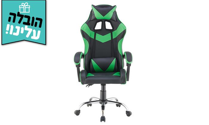 4 כיסא גיימרים אורתופדי NINJA Extrim - משלוח חינם