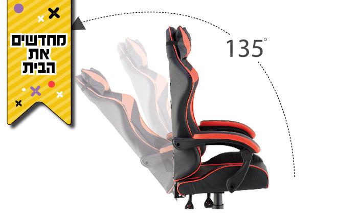 3 כיסא גיימרים אורתופדי NINJA Extrim