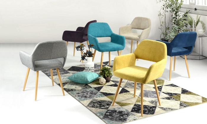 2 כיסא פינת אוכל Homax דגם פאוול