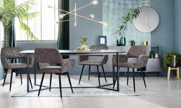 17 כיסא פינת אוכל Homax דגם פאוול
