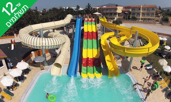 2 הכול כלול בכרתים למשפחות - מלון עם פארק מים