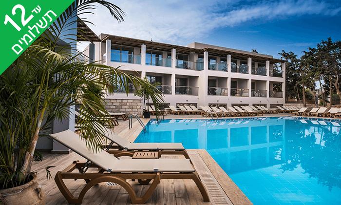 4 הכול כלול בכרתים למשפחות - מלון עם פארק מים