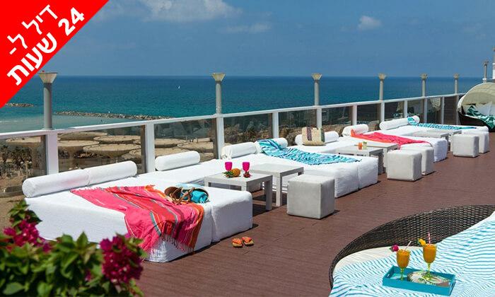 6 דיל ל-24 שעות: חבילת ספא זוגית עם עיסוי במלון לאונרדו ארט, חוף גורדון תל אביב