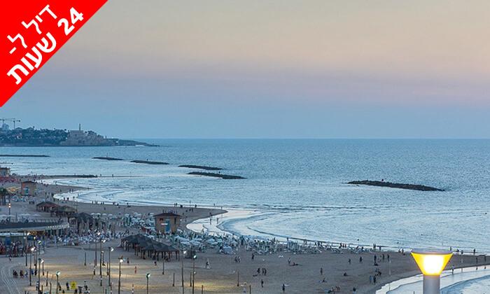 8 דיל ל-24 שעות: חבילת ספא זוגית עם עיסוי במלון לאונרדו ארט, חוף גורדון תל אביב