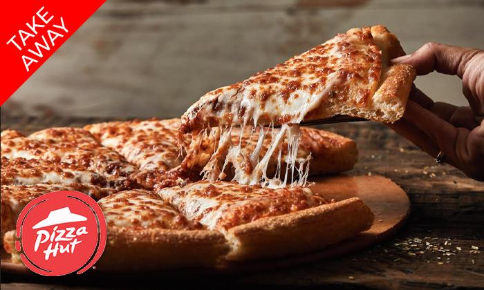 2 פיצה האט Pizza Hut - מגש משפחתי בסניפי אילת