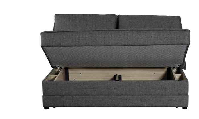 6 ספה זוגית נפתחת למיטה BRADEX - משלוח חינם