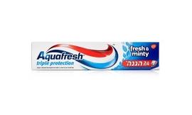6 יח' משחת שיניים Aquafresh