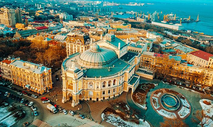3 חופשה בעיר הנופש אודסה, כולל פסח וחגי תשרי