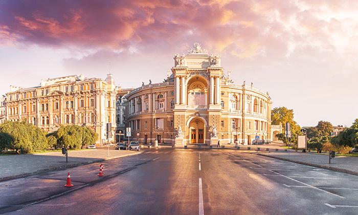 7 חופשה בעיר הנופש אודסה, כולל פסח וחגי תשרי
