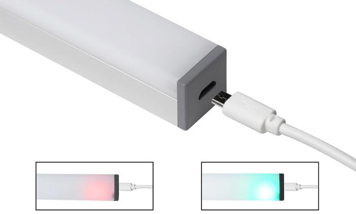 5 מנורת לד בטעינת USB