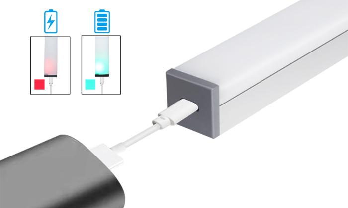 7 מנורת לד בטעינת USB