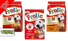 3 מארזי חטיפים לכלבים Frolic