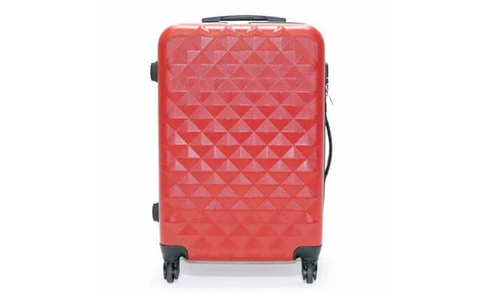 8 סט 3 מזוודות טרולי קשיחות