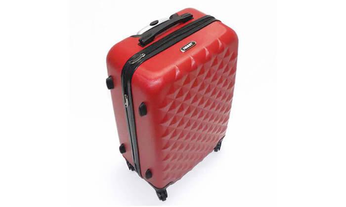 9 סט 3 מזוודות טרולי קשיחות