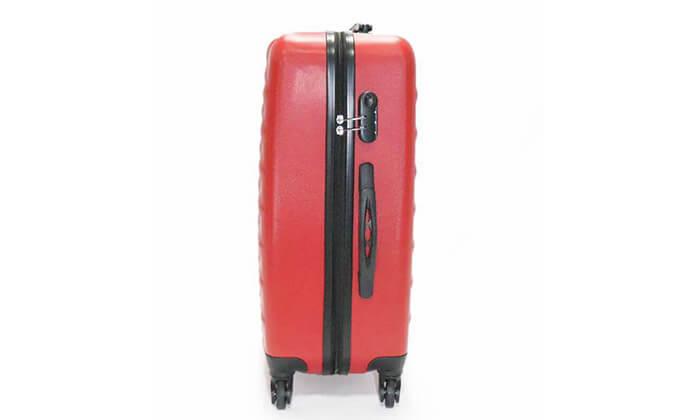 11 סט 3 מזוודות טרולי קשיחות
