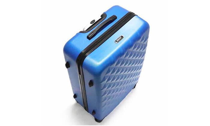 14 סט 3 מזוודות טרולי קשיחות
