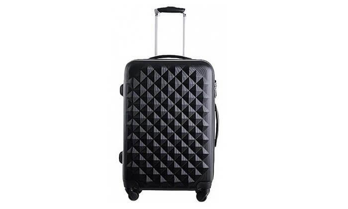 17 סט 3 מזוודות טרולי קשיחות