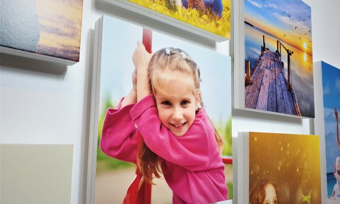 3 ארבעה אריחי תמונות קאפה בהתאמה אישית באתר PicOnAll