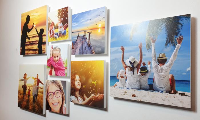 2 ארבעה אריחי תמונות קאפה בהתאמה אישית באתר PicOnAll