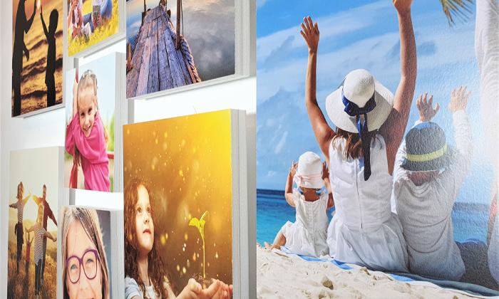 5 ארבעה אריחי תמונות קאפה בהתאמה אישית באתר PicOnAll