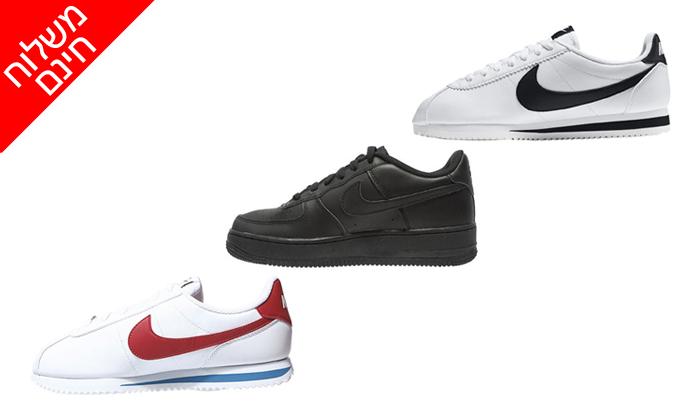 2 נעלי סניקרס לנשים ולנוער נייקי NIKE - משלוח חינם