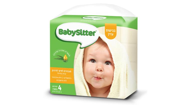 4 מארז 24 חבילות מגבוני בייביסיטר BabySitter