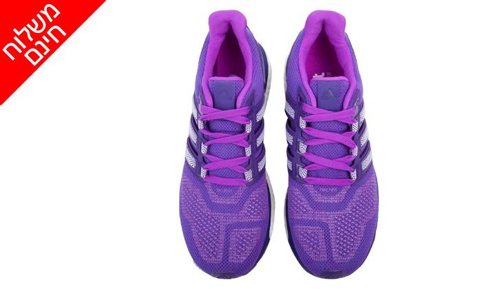 10 נעלי נשים אדידס adidas מסדרת BOOST  - משלוח חינם