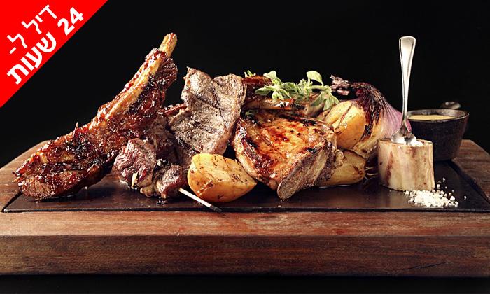 2 ל-24 שעות: ארוחה זוגית במסעדת פאפאגאיו Papagaio הכשרה בהרצליה