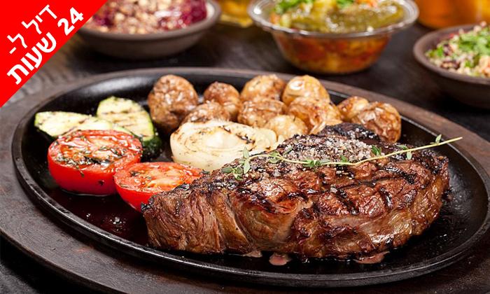 8 ל-24 שעות: ארוחה זוגית במסעדת פאפאגאיו Papagaio הכשרה בהרצליה