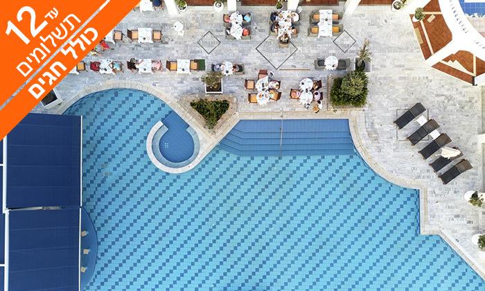 5 הכול כלול בכרתים במלון 5* Radisson Blu - שבועות וקיץ